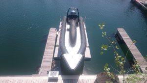 Drijvende bootlift, Floatlift tot 2.722 kg
